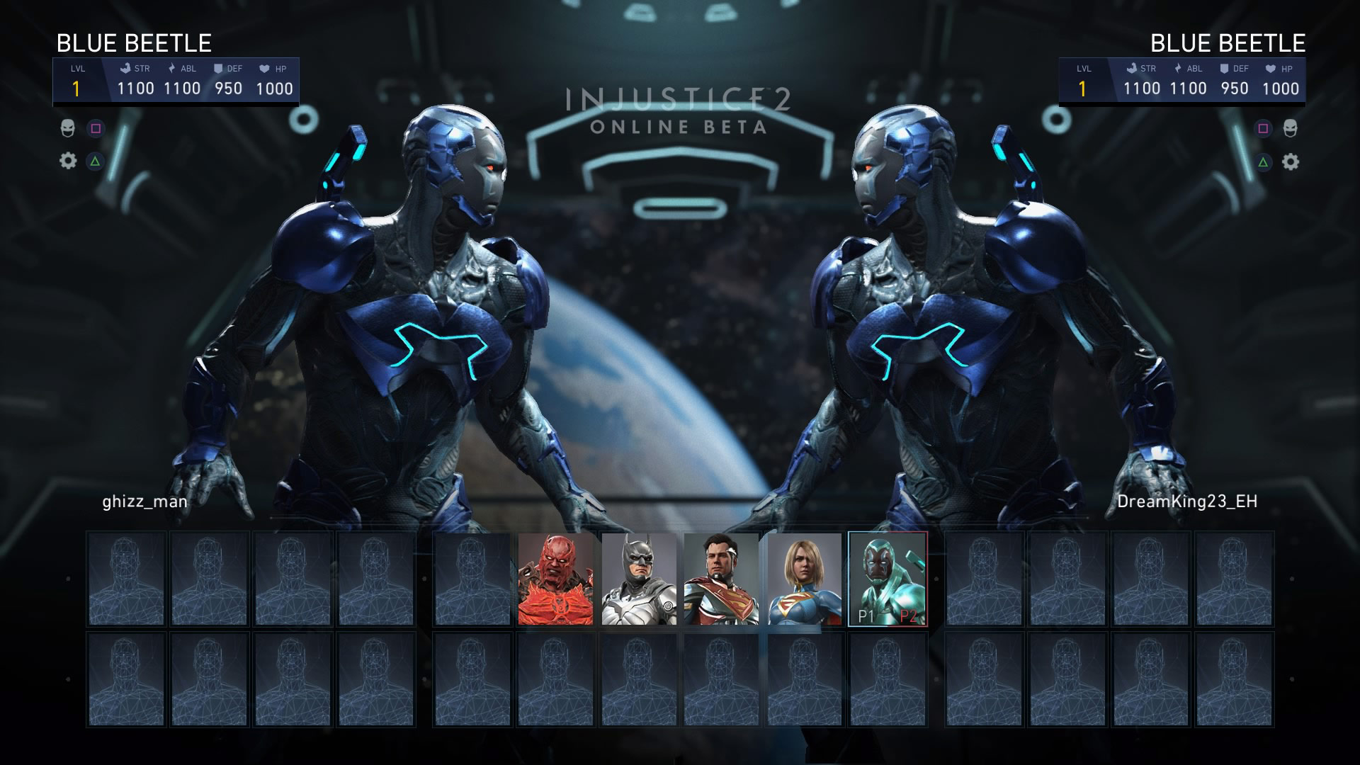 Blue Beetle in the Injustice 2 beta 3 out of 6 image gallery