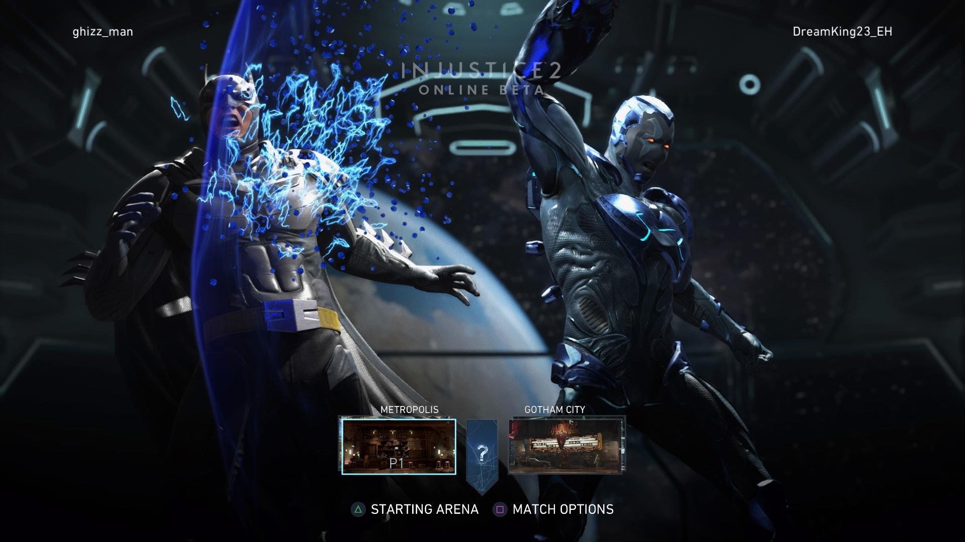 Blue Beetle in the Injustice 2 beta 4 out of 6 image gallery