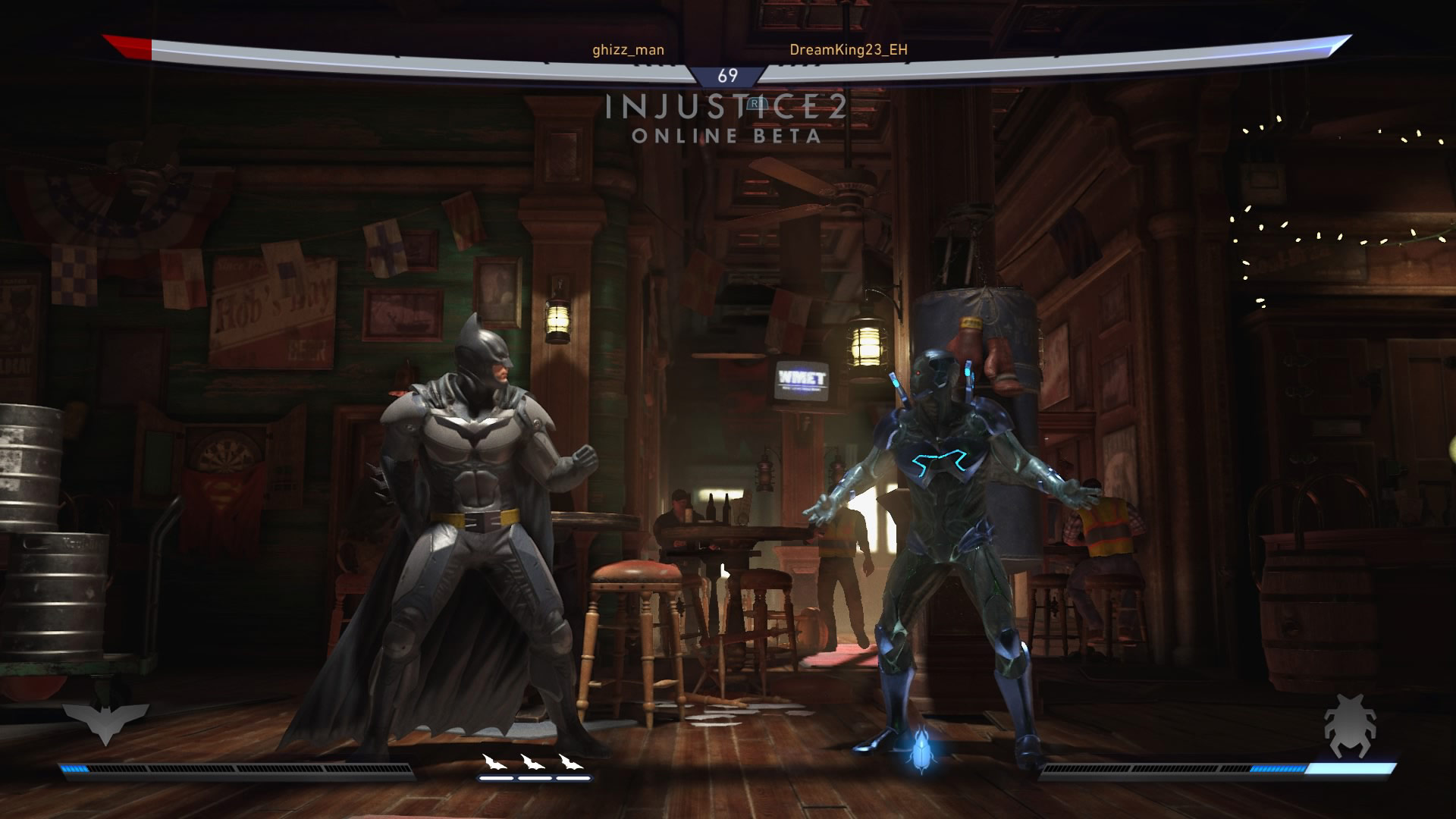 Blue Beetle in the Injustice 2 beta 5 out of 6 image gallery