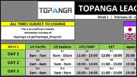 6th Topanga League Event Schedule image #1