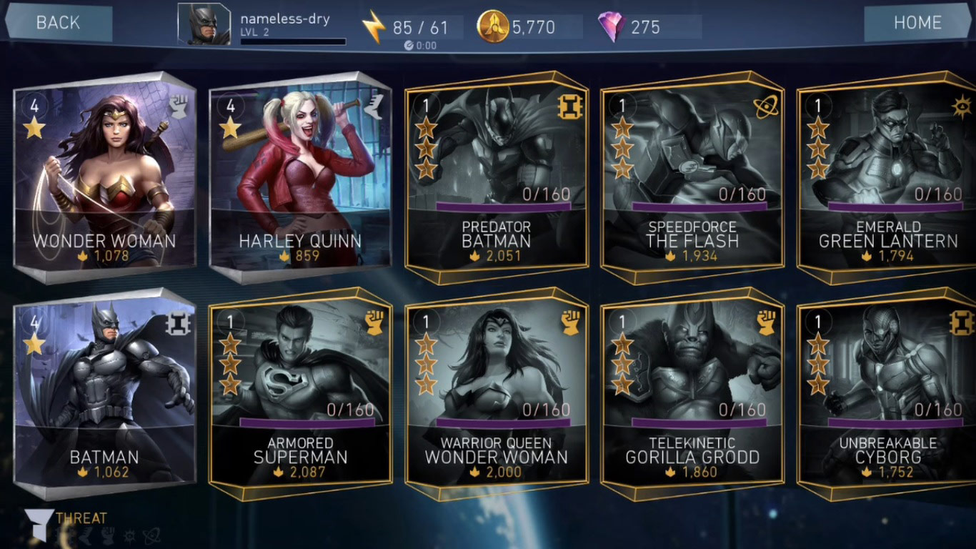 Injustice 2 mobile game shows potential console characters 1 out of 6 image gallery