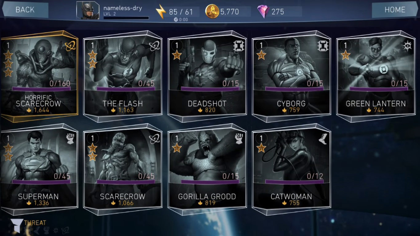 Injustice 2 mobile game shows potential console characters 2 out of 6 image gallery