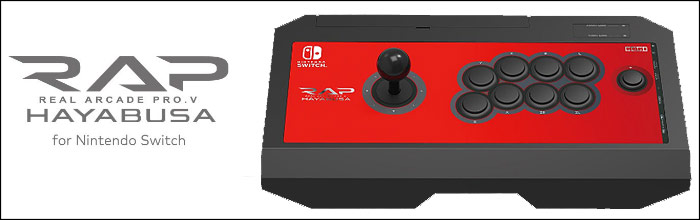 HORI arcade stick confirmed to be coming to the Nintendo Switch