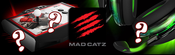 Will Mad Catz make it past April? Their joysticks and