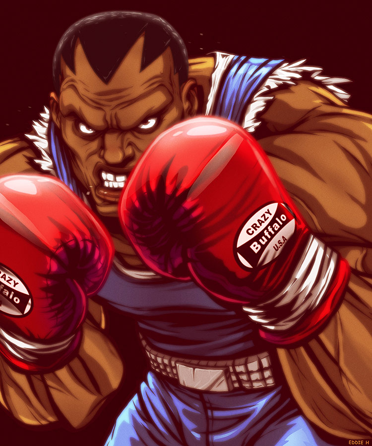 Eddie Holly's fighting game artwork 2 out of 21 image gallery