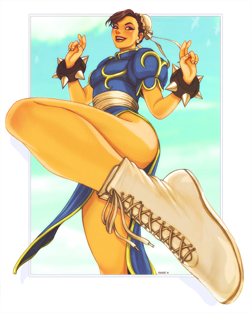 Eddie Holly's fighting game artwork 4 out of 21 image gallery