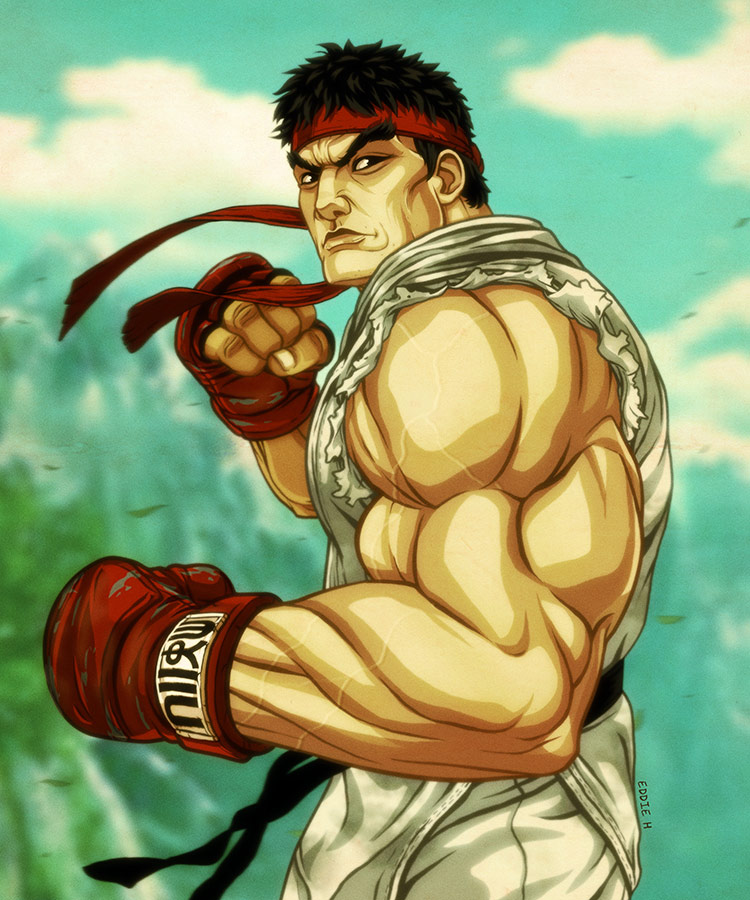 Eddie Holly's fighting game artwork 5 out of 21 image gallery