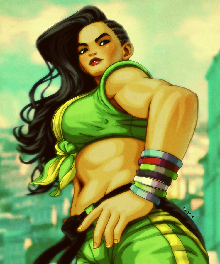 Eddie Holly's fighting game artwork 6 out of 21 image gallery