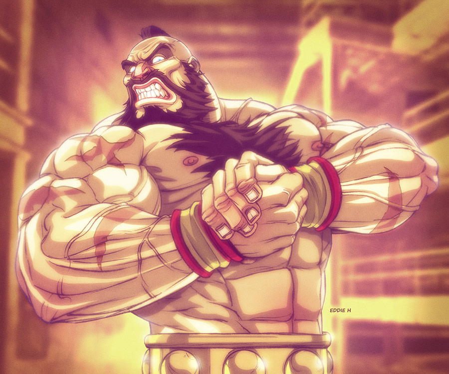 Eddie Holly's fighting game artwork 8 out of 21 image gallery