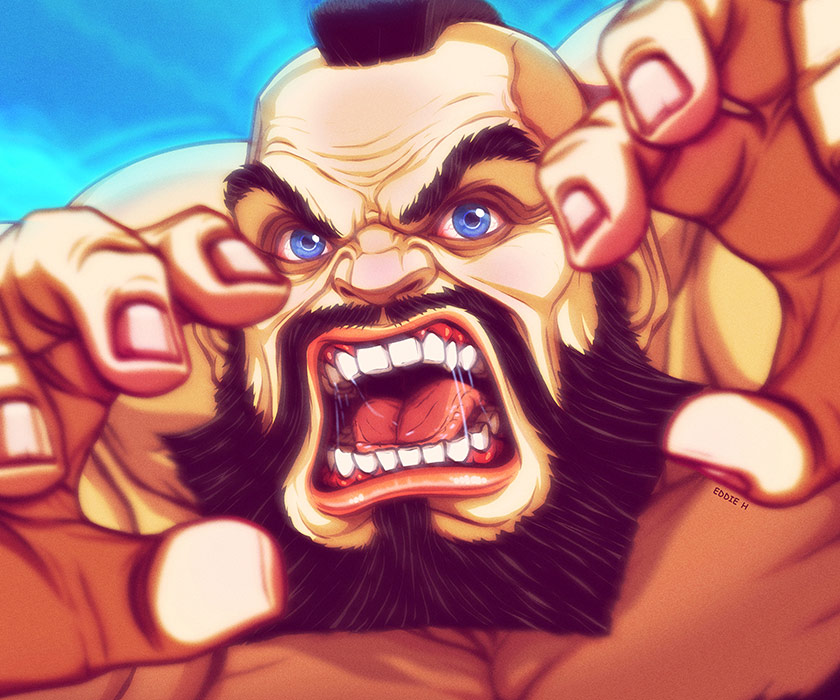 Eddie Holly's fighting game artwork 9 out of 21 image gallery