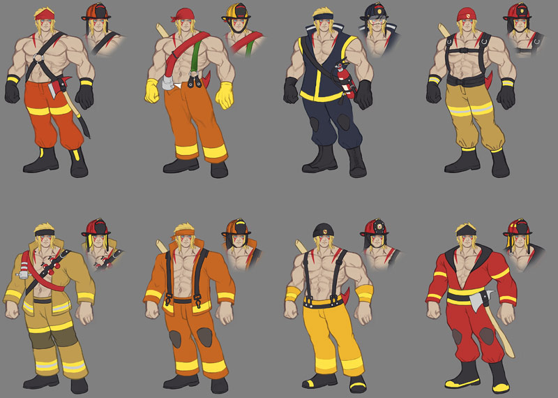 Street Fighter 5 Work costumes 2 out of 9 image gallery