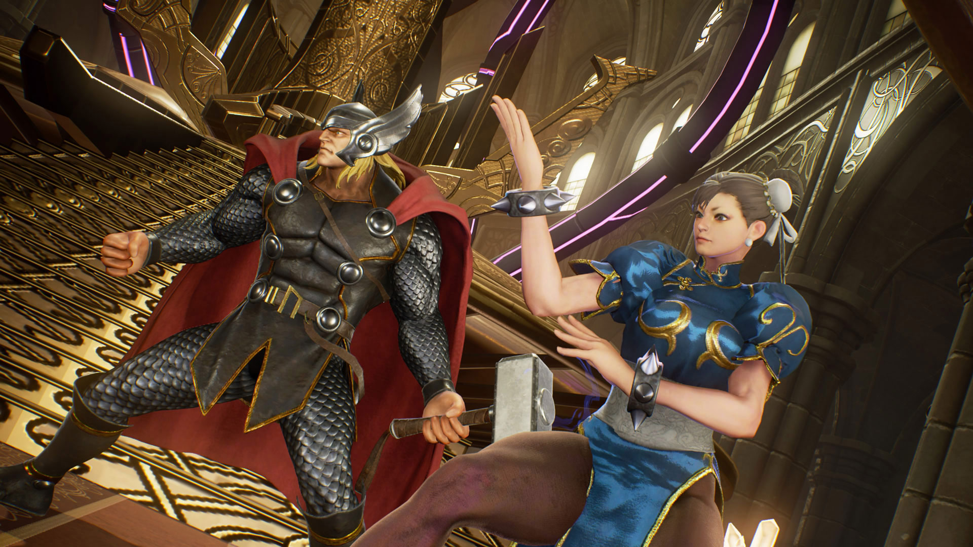 Marvel vs. Capcom: Infinite gameplay screenshots 2 out of 6 image gallery