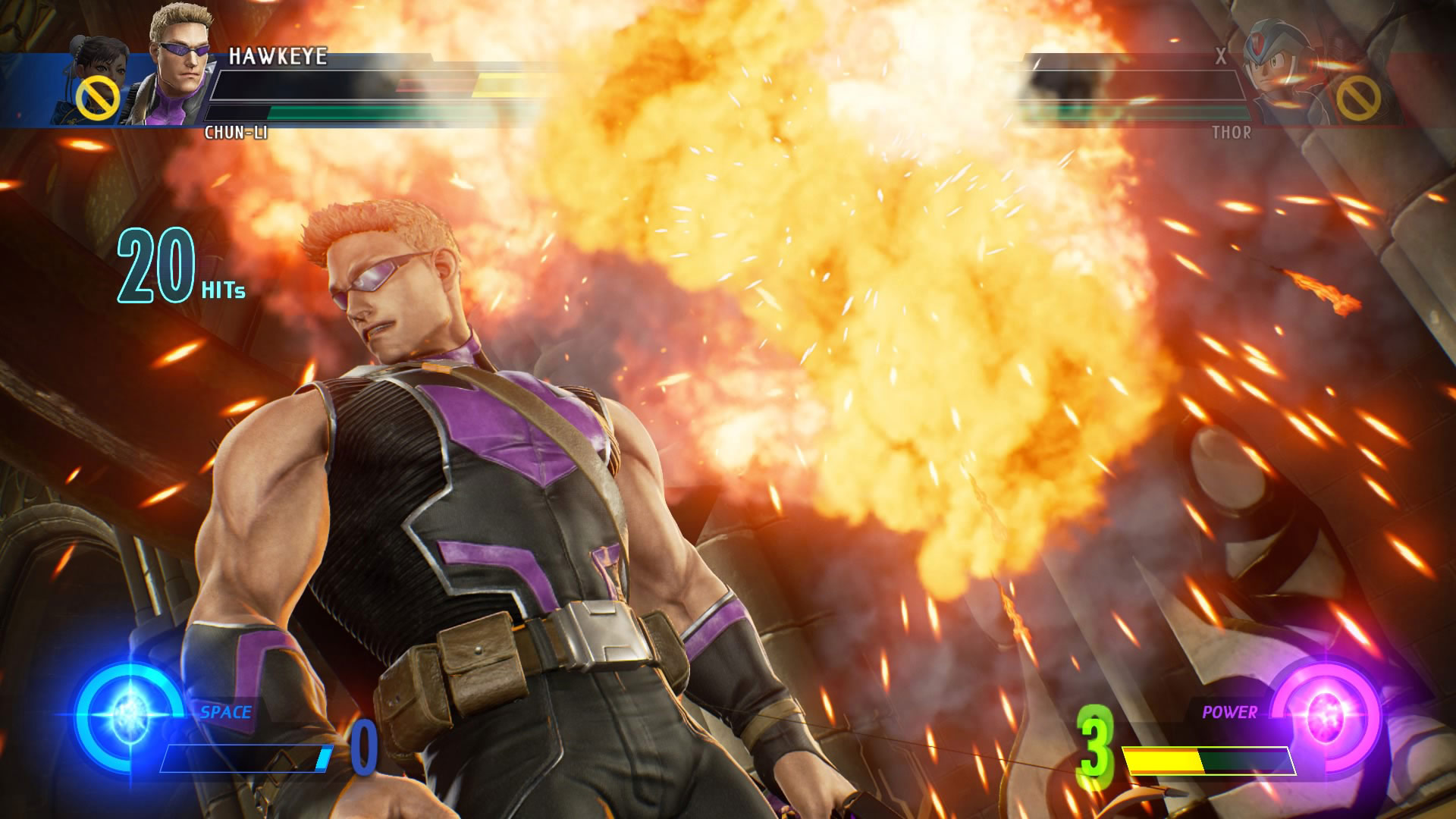 Marvel vs. Capcom: Infinite gameplay screenshots 4 out of 6 image gallery