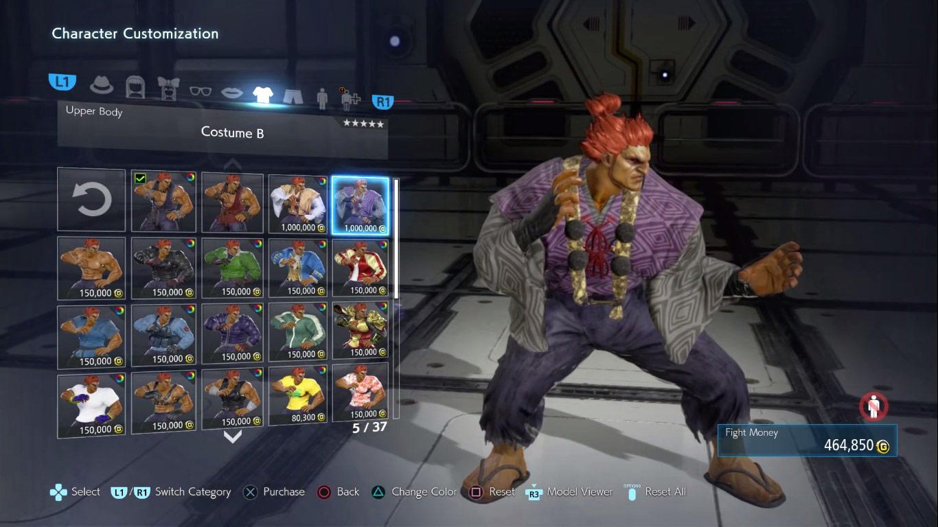 Tekken 7 customization  4 out of 6 image gallery