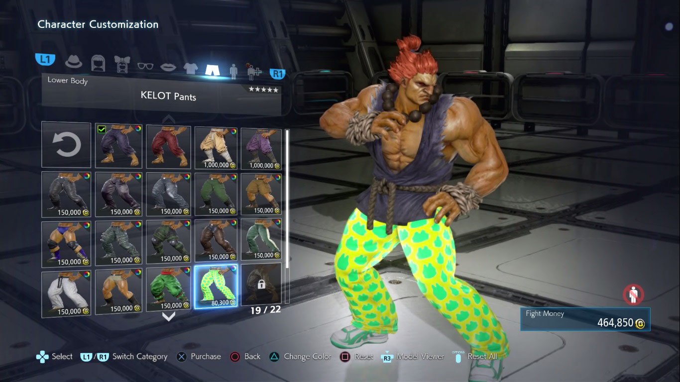 Tekken 7 customization  5 out of 6 image gallery