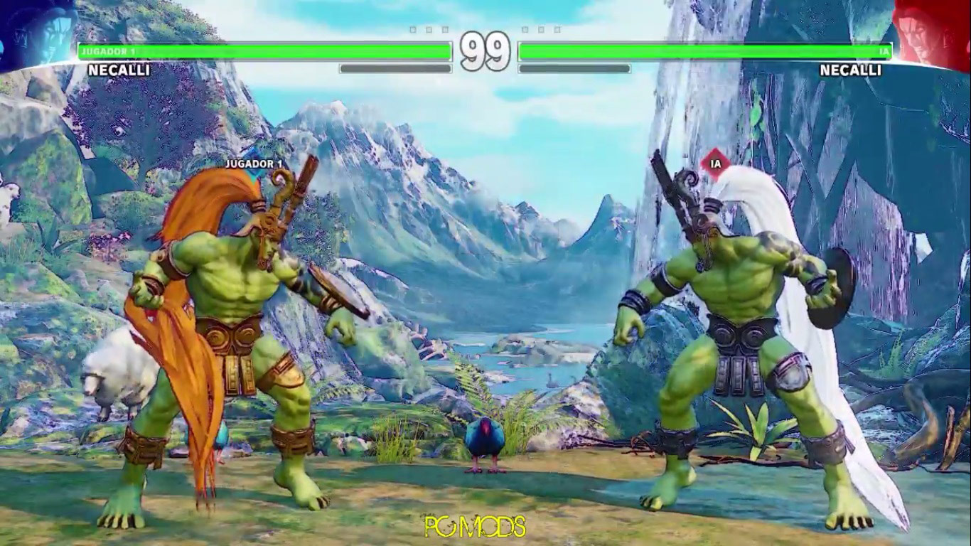 Street Fighter 5 PC mod - Ogre 3 out of 6 image gallery