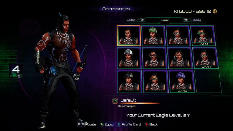 Eagle's accessories in Killer Instinct 1 out of 8 image gallery