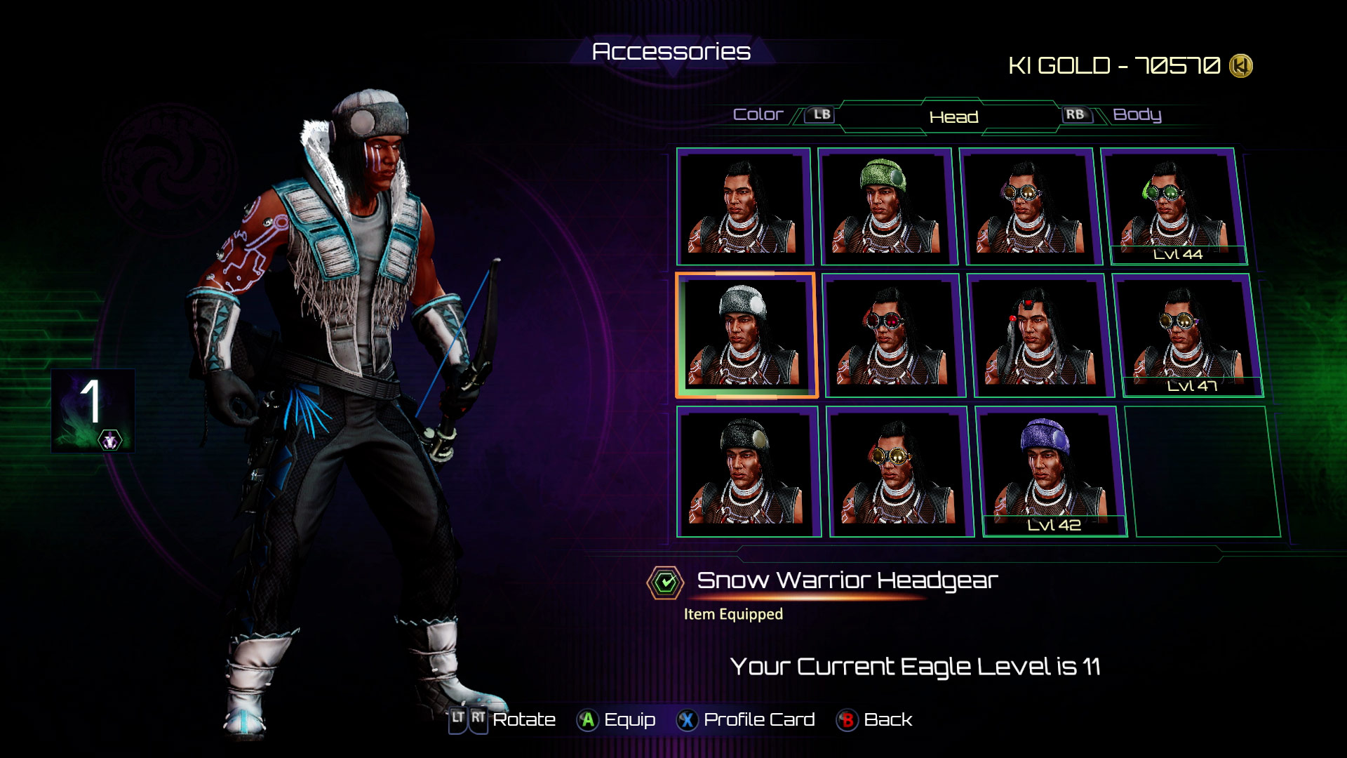 Eagle's accessories in Killer Instinct 2 out of 8 image gallery
