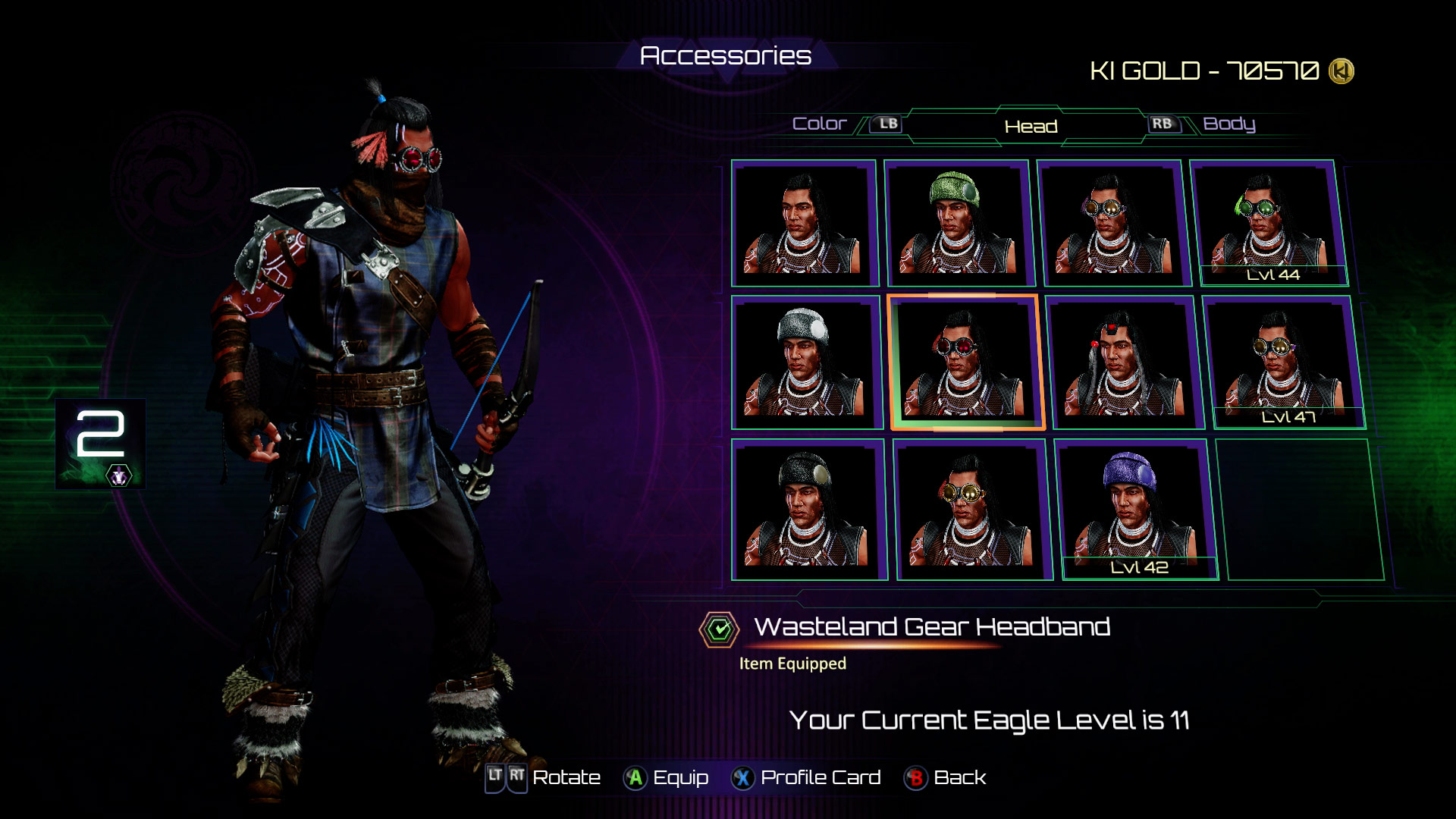 Eagle's accessories in Killer Instinct 3 out of 8 image gallery