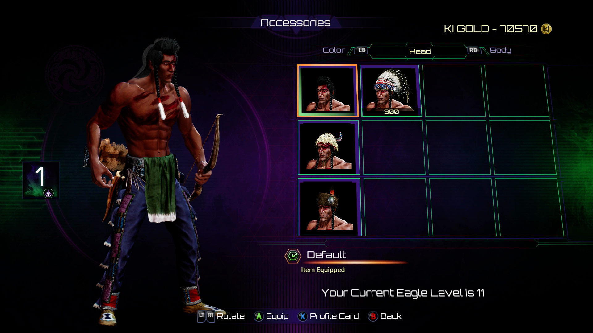 Eagle's accessories in Killer Instinct 5 out of 8 image gallery
