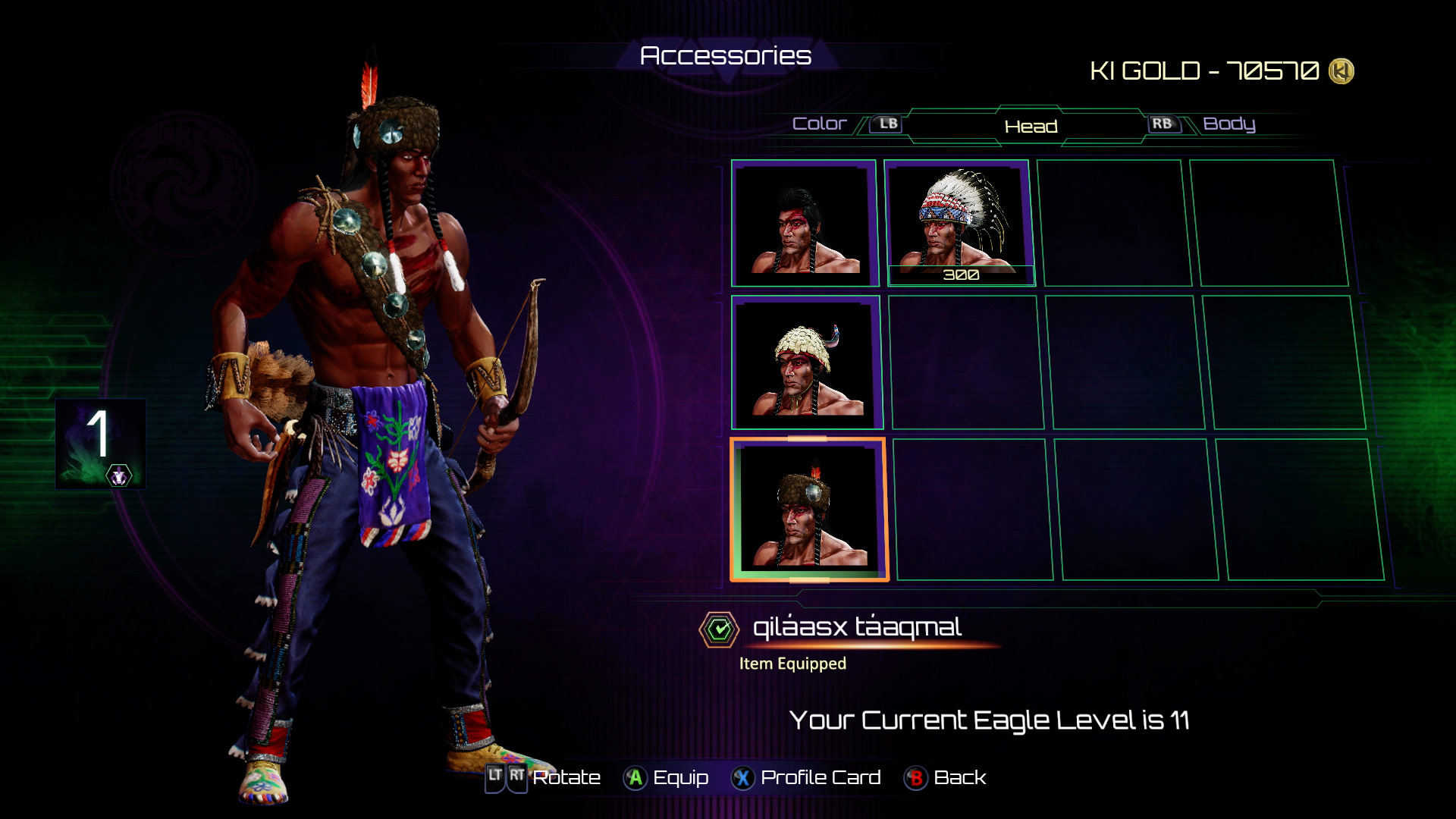 Eagle's accessories in Killer Instinct 7 out of 8 image gallery