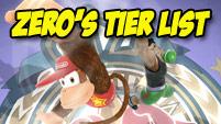 ZeRo's Smash 4 tier list image #1