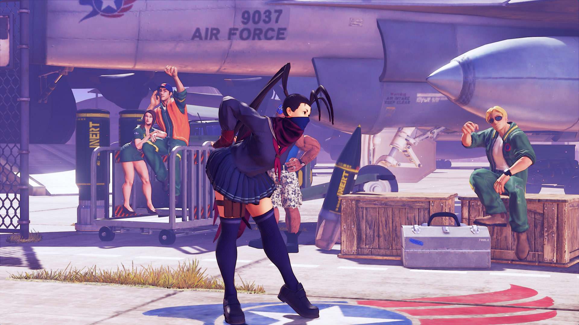 More Street Fighter 5 school costumes 4 out of 4 image gallery