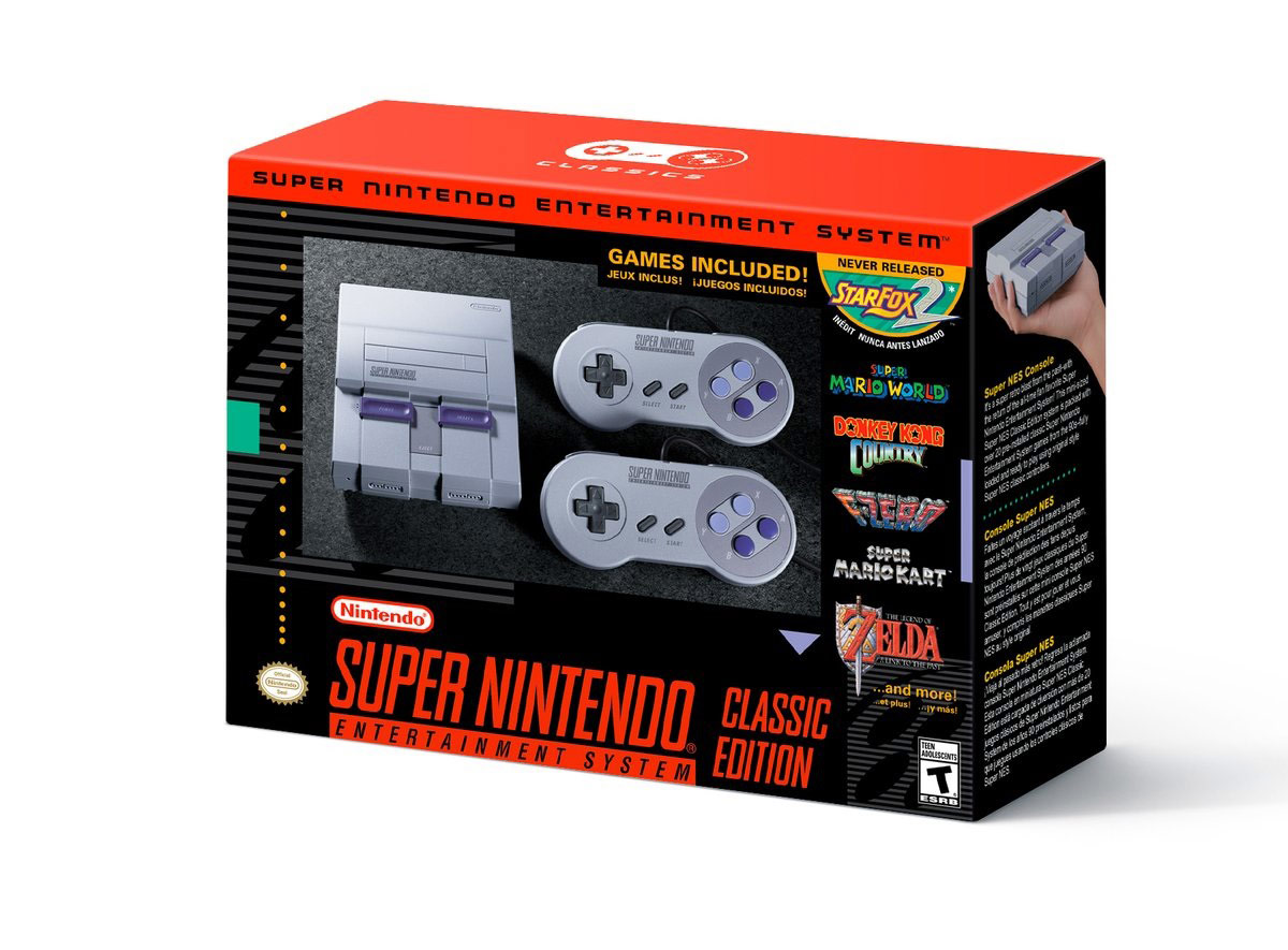 Super NES Classic 1 out of 3 image gallery