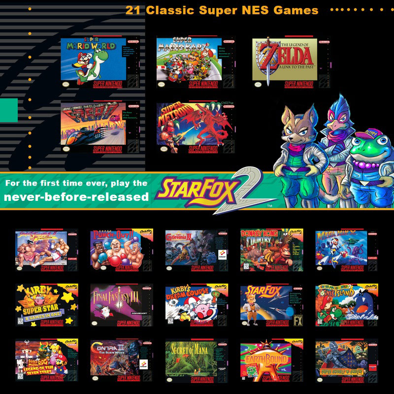 Super NES Classic 3 out of 3 image gallery