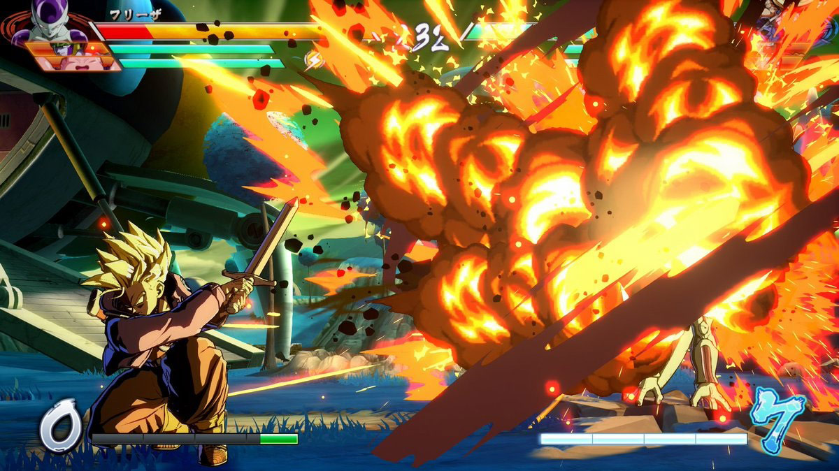 Future Trunks in Dragon Ball FighterZ 1 out of 1 image gallery