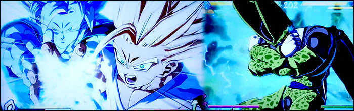 Gohan Hits Cell With Father Son Kamehameha During These Seven Minutes Of Brand New Dragon Ball FighterZ Gameplay Footage