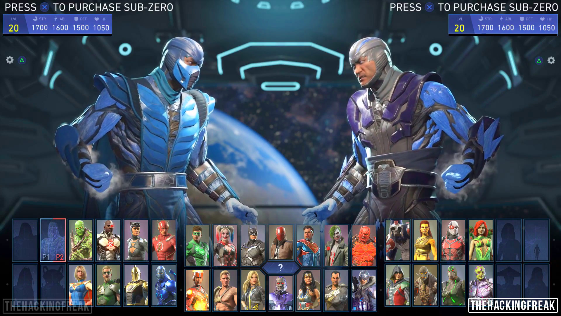 Sub Zero In Injustice 2 Character Select Images 4 Out Of 9 Image