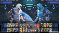 Sub-Zero in Injustice 2 character select images image #5