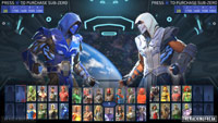 Sub-Zero in Injustice 2 character select images image #6
