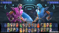 Sub-Zero in Injustice 2 character select images image #7