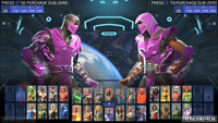 Sub-Zero in Injustice 2 character select images image #9
