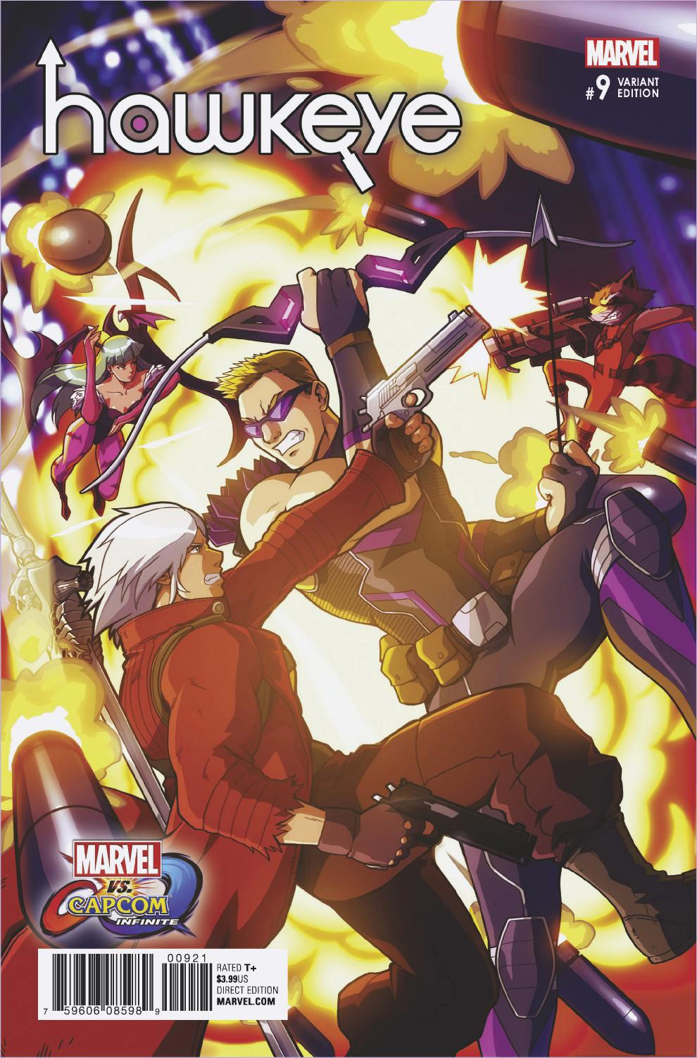 Marvel vs. Capcom: Infinite variant covers 3 out of 4 image gallery