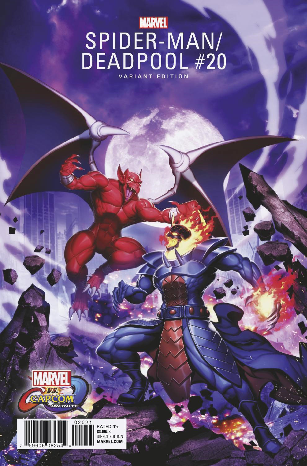 Marvel vs. Capcom: Infinite variant covers 4 out of 4 image gallery