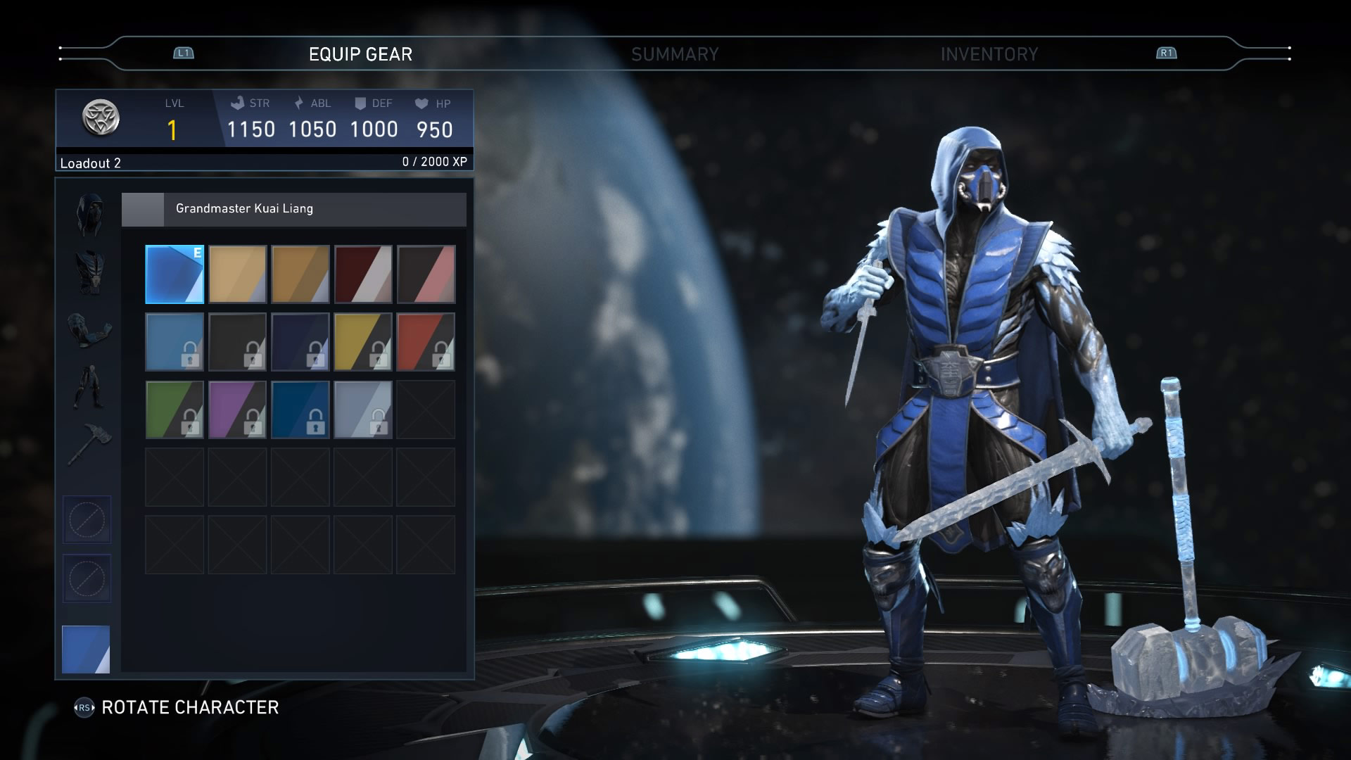 Sub Zero In Injustice 2 6 Out Of 6 Image Gallery