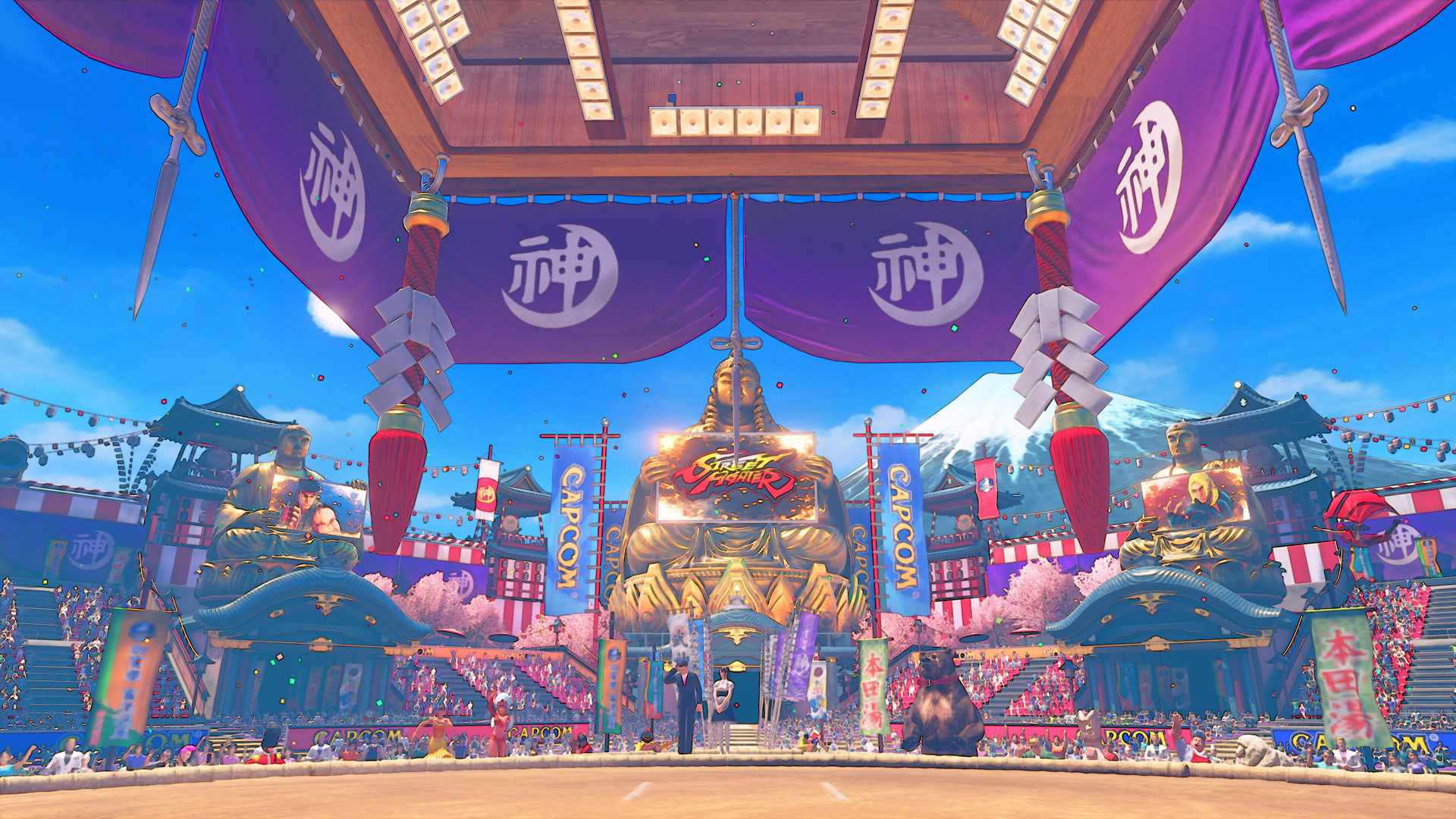 Ring of Pride stage and Guile's Capcom Cup 2016 costume for Street Fighter 5 2 out of 7 image gallery