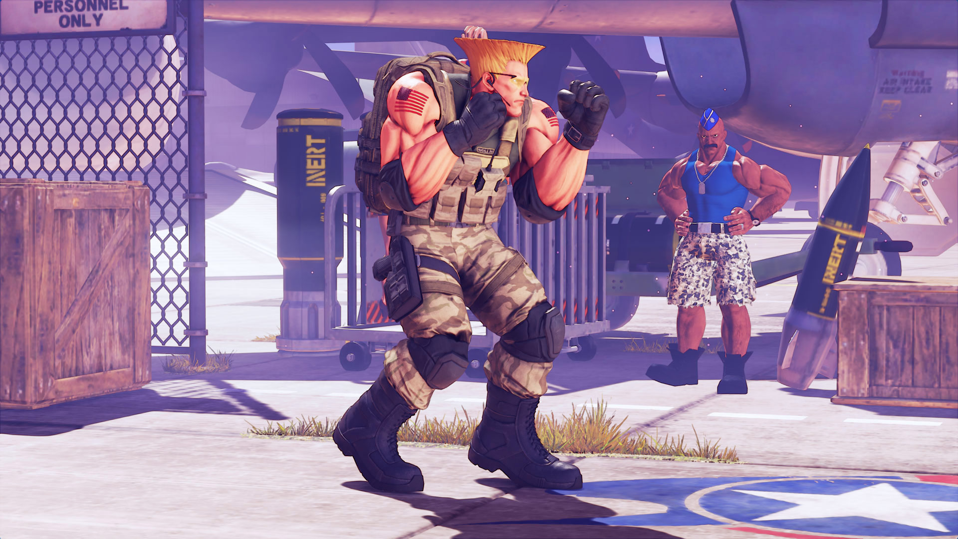 Ring of Pride stage and Guile's Capcom Cup 2016 costume for Street Fighter 5 3 out of 7 image gallery