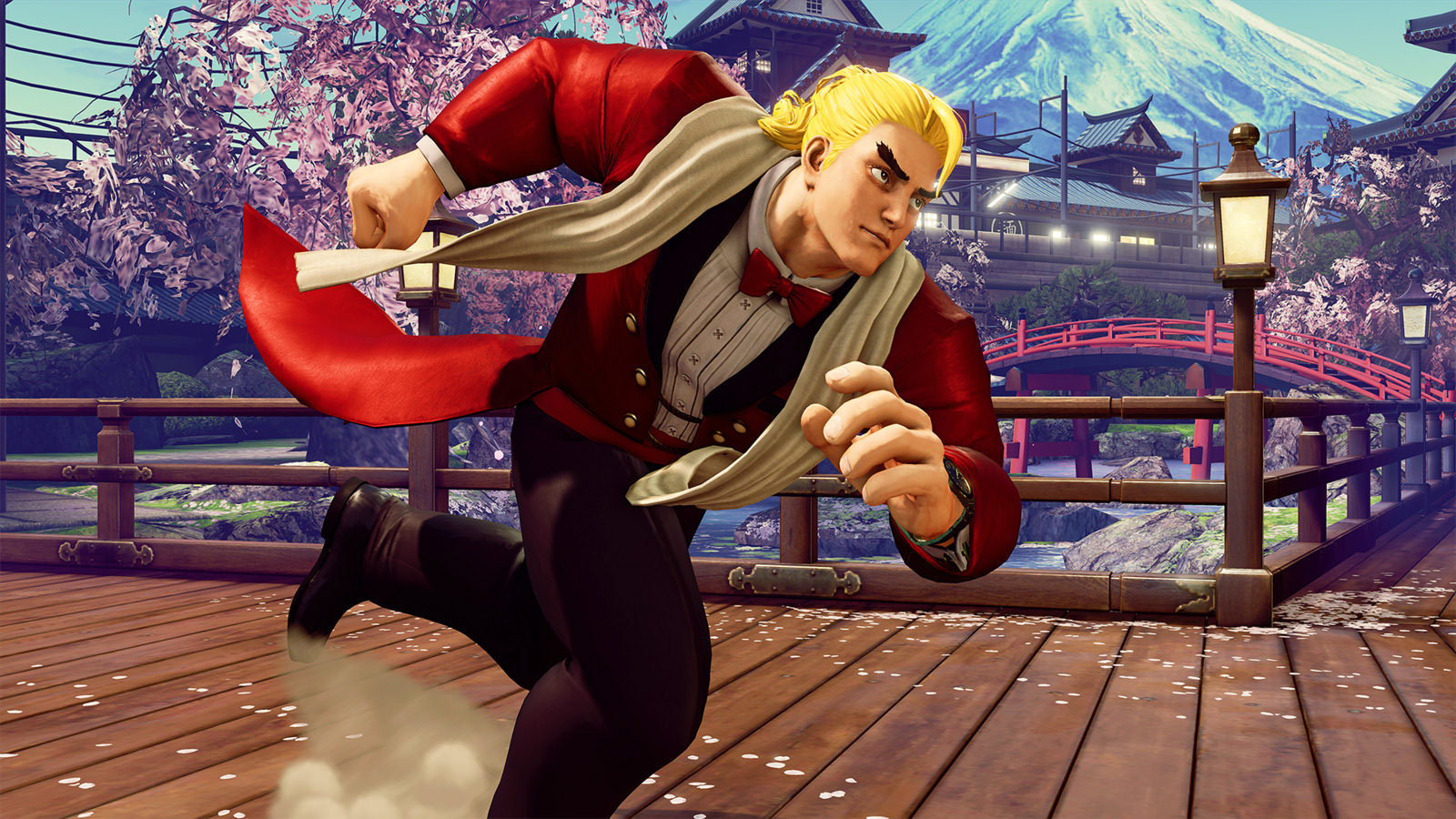 Ring of Pride stage and Guile's Capcom Cup 2016 costume for Street Fighter 5 5 out of 7 image gallery