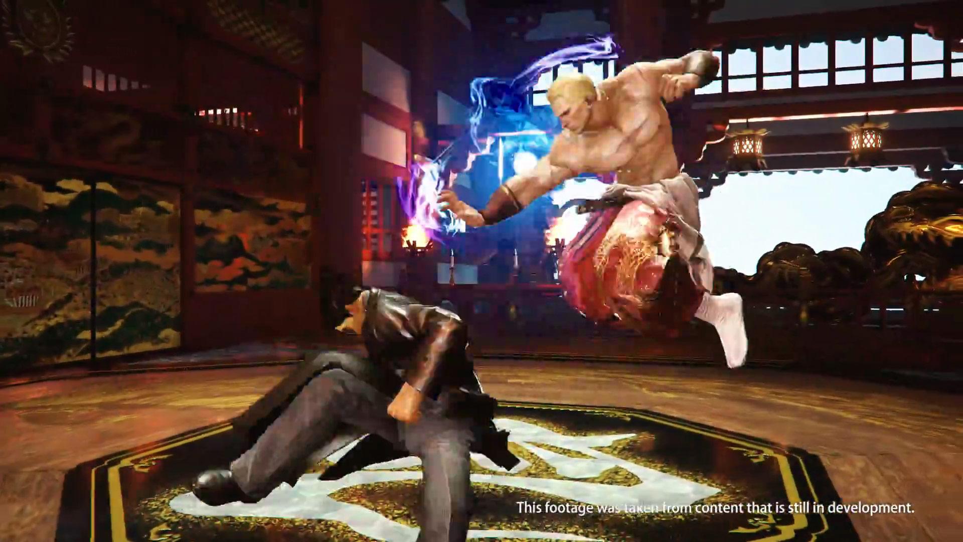 Geese Howard Tekken 7 screen shots 8 out of 9 image gallery