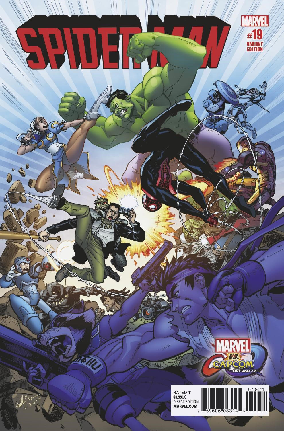 More Marvel vs. Capcom: Infinite variant covers 2 out of 5 image gallery