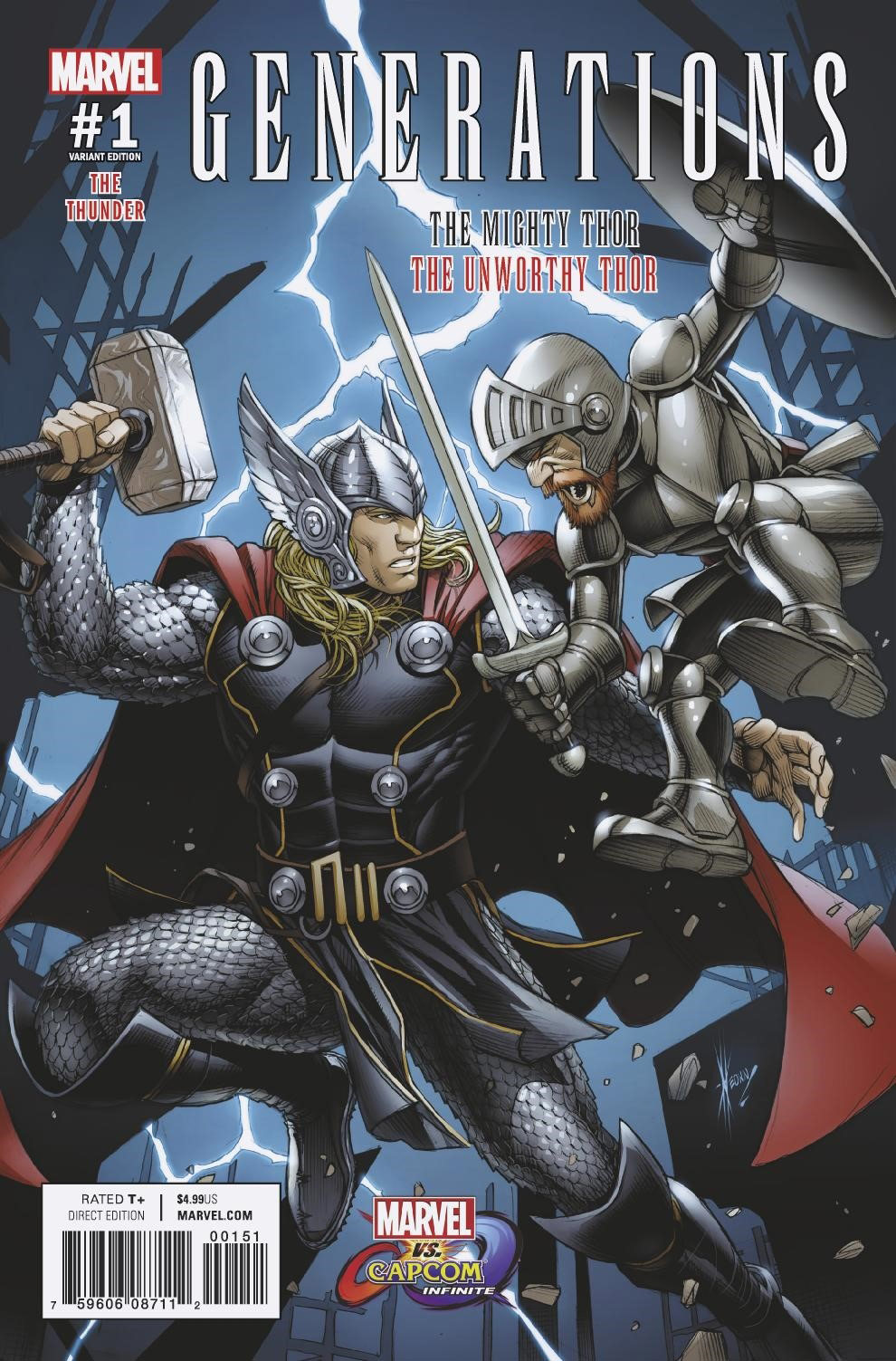 More Marvel vs. Capcom: Infinite variant covers 4 out of 5 image gallery