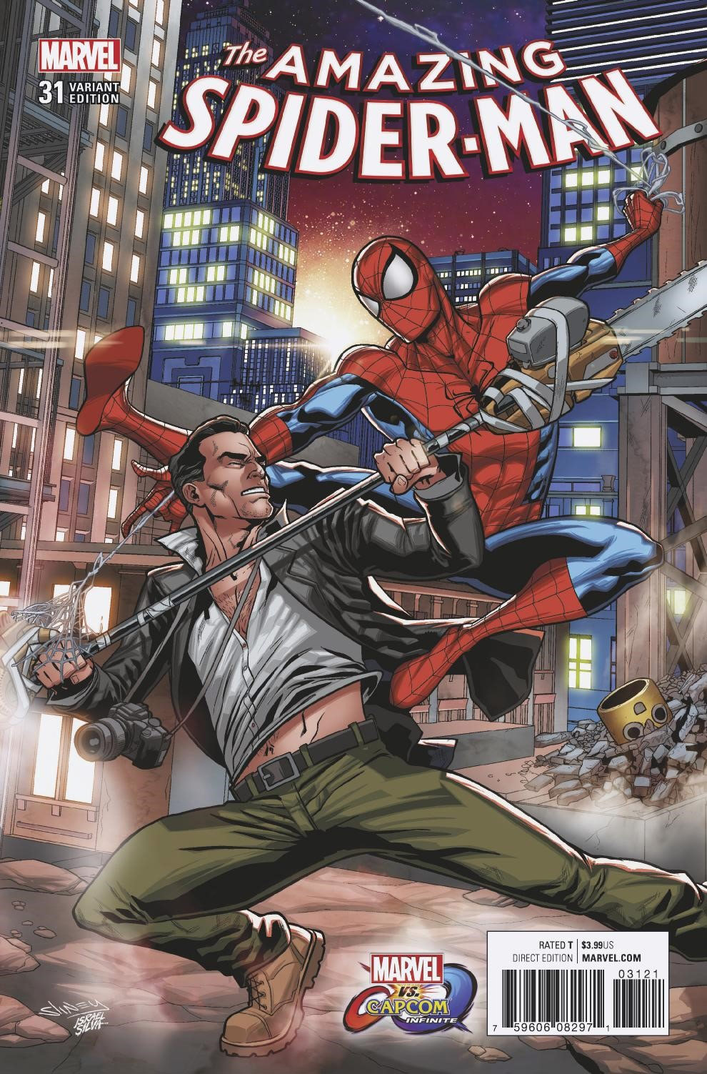 More Marvel vs. Capcom: Infinite variant covers 5 out of 5 image gallery