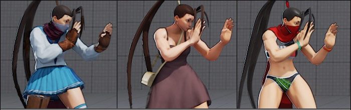 ibuki has a ton of costumes in street fighter 5 here s a closer