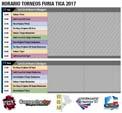 Furia Tica 2017 Schedule image #1