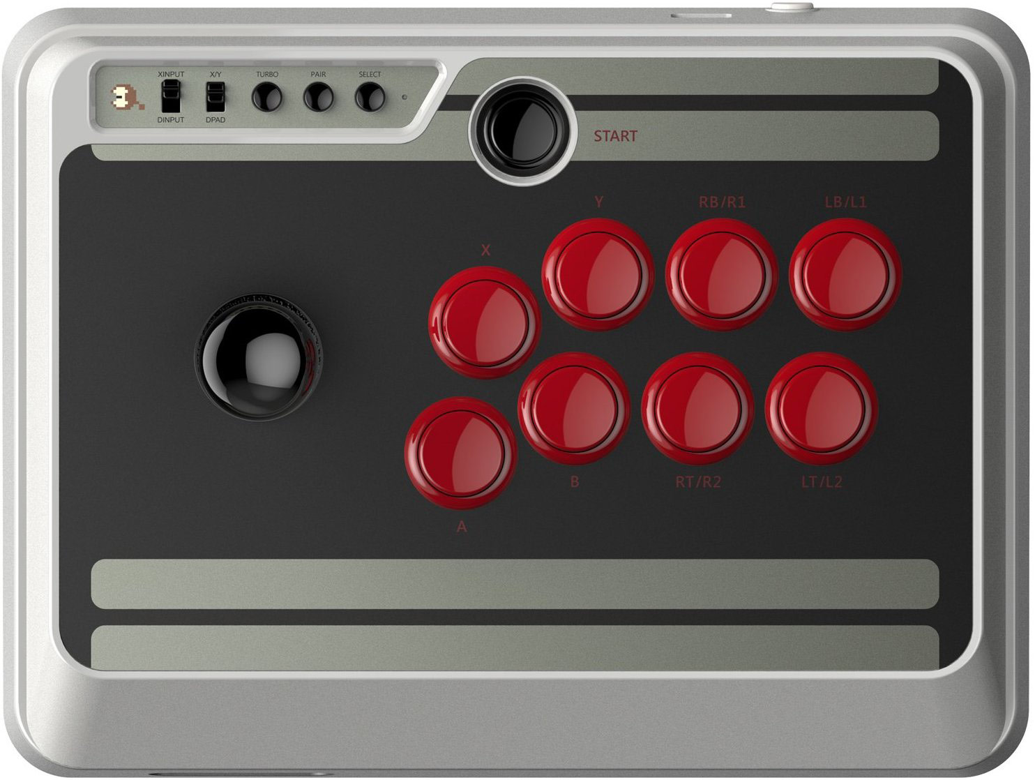 8Bitdo NES30 Arcade Stick 6 out of 11 image gallery