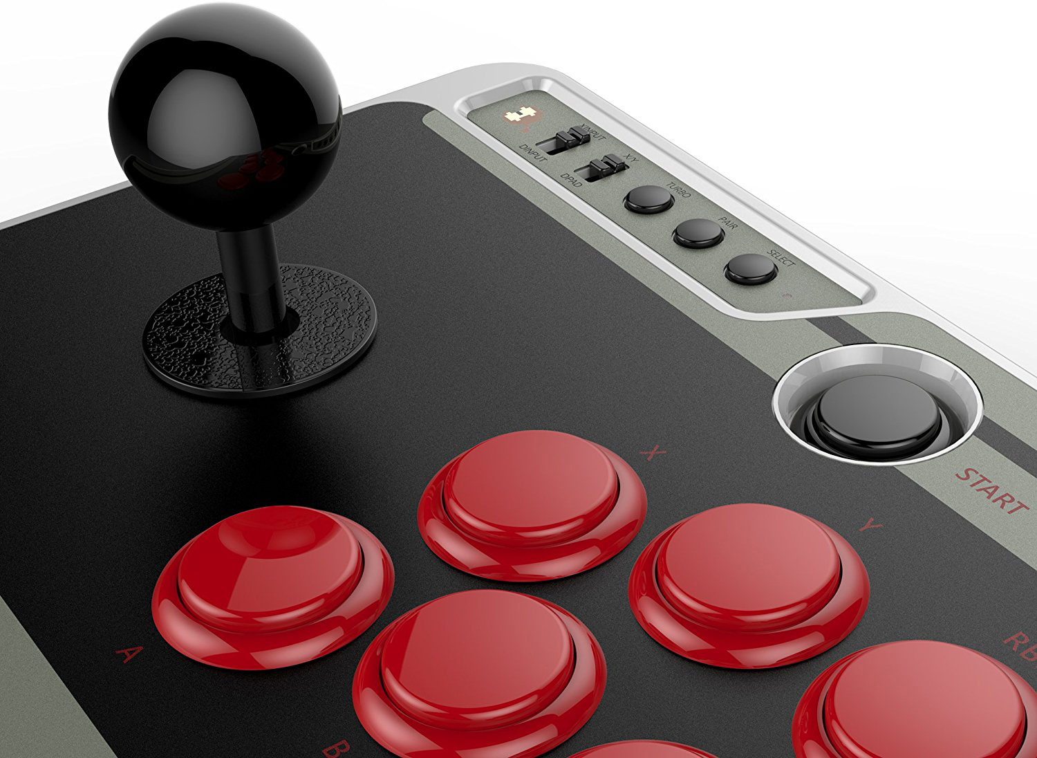8Bitdo NES30 Arcade Stick 7 out of 11 image gallery